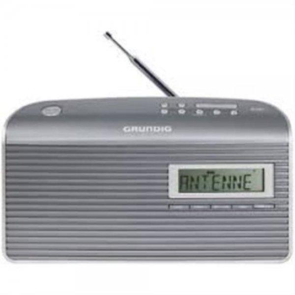 Grundig Music 7000 DAB+ Tragbar Analog & digital Grau, Silber Radio