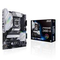 ASUS Prime Z490-A Gaming Mainboard Sockel 1200 ATX Intel AI Overclocking USB Typ-C Thunderbolt-3 M.2