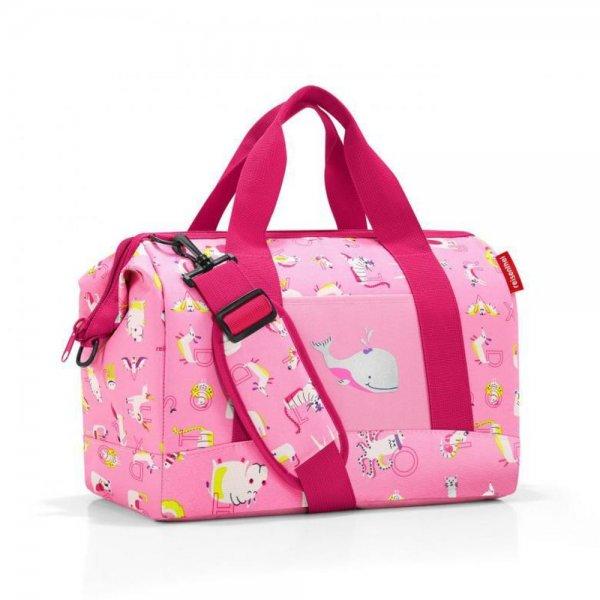 reisenthel allrounder M kids abc friends pink Reisetasche Sporttasche Kindertasche Handgepäck