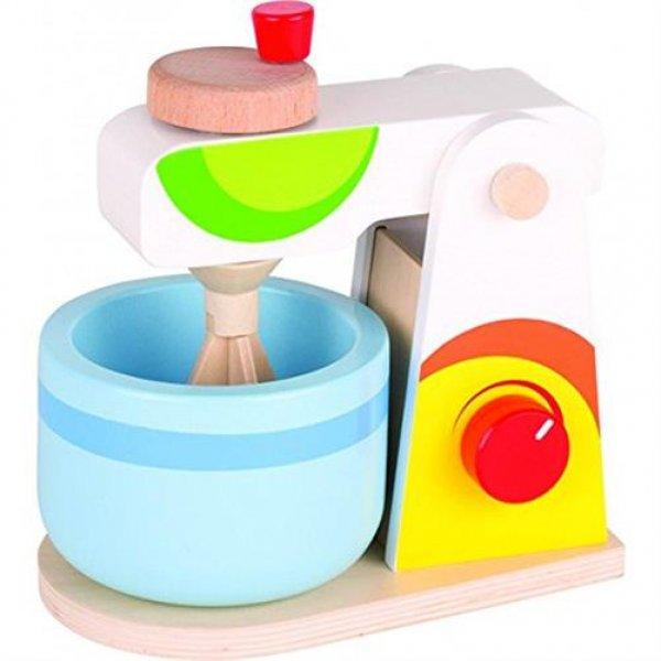 Goki Mixer für Kinderküche Spielküche Spielzeug Rollenspiel Küchenmaschine Standmixer