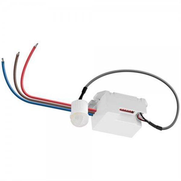 Goobay Bewegungsmelder IDU mini weiss Infrarot Alarmmelder LED geeignet Alarm Bewegung