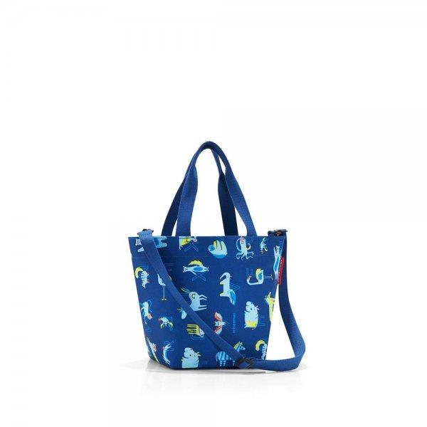 reisenthel shopper XS kids abc friends blue Strandtasche Einkaufstasche Umhängetasche