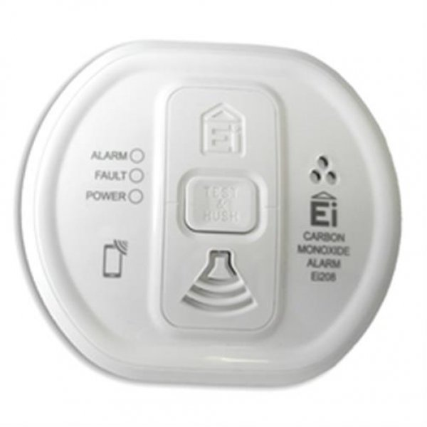 Popp Smart Home Rauchmelder CO-Melder Kohlenstoffmonoxid-Alarm Z-Wave