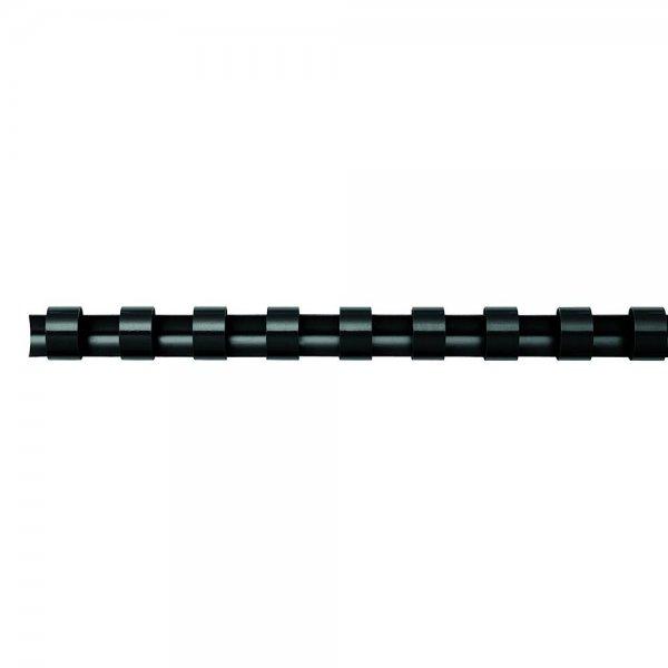 Fellowes Plastikbinderücken A4 6mm schwarz 25 Stück