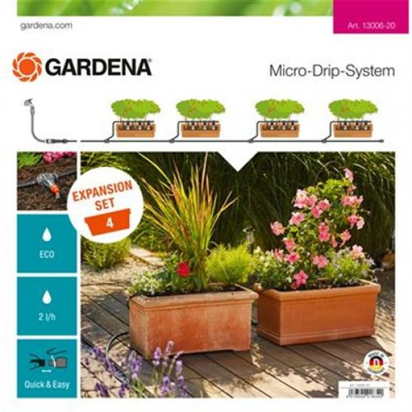 Gardena Gard MDS Erweiterungsset Pflanztröge | 13006-20