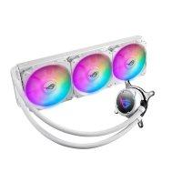 ASUS ROG Strix LC 360 RGB White Edition All-in-One Wasserkühlung RGB-Radiatorlüfter 3x 120 mm