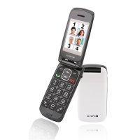 Olympia Classic Mini Großtasten-Mobiltelefon Weiß Farb-LCD-Display Grosstastenhandy Seniorenhandy