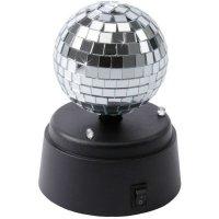 IOIO DSB 01 Mini Discoball Spiegel Disco Kugel Durchmesser 7cm LED Weiß Partybeleuchtung #98811