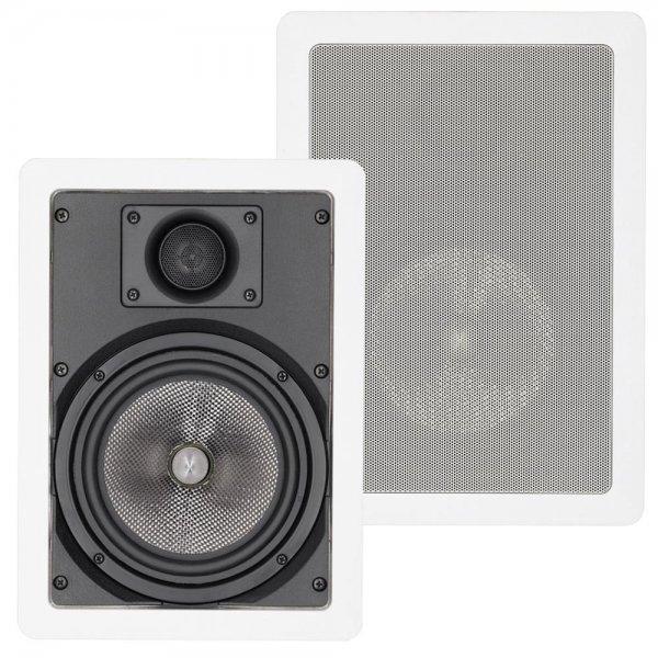Magnat Interior IW 610 2-Wege Lautsprecher Weiß 1 Stück