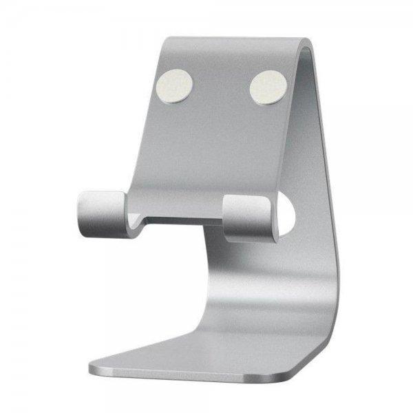 Goobay Tischständer für Smartphones Alu Silber Desktop