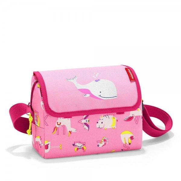 reisenthel everydaybag kids abc friends pink Umhängetasche mit Schultergurt für Kinder