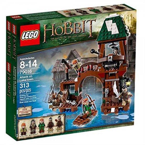 Lego The Hobbit 79016 - Angriff auf Seestadt 8-14