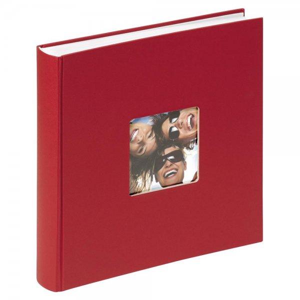 Walther Fun rot 30x30 100 Seiten Buchalbum FA208R