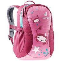 Deuter Pico Kinderrucksack Kindergartenrucksack Wanderrucksack hotpink-ruby Mädchen Jungen Rucksack