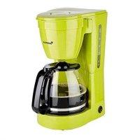 KORONA Kaffeemaschine Grün mit Glaskanne Filter-Kaffeeautomat 12 Tassen 800W Filterkaffee Kaffee