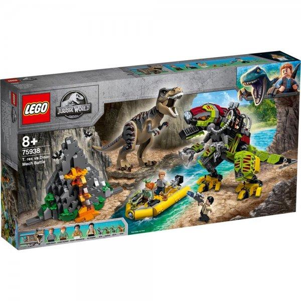 LEGO® Jurassic World™ 75938 - T. Rex vs. Dino-Mech