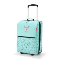 reisenthel trolley XS kids cats and dogs mint Kinderkoffer Kindertrolley Rollkoffer Koffer