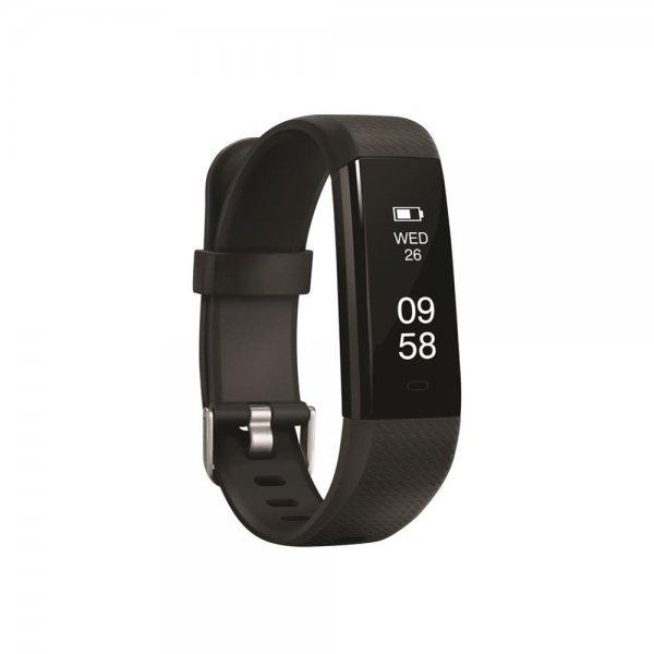 ACME ACT206 Fitness Activity Tracker Smart-Armband mit Herzfrequenzmesser schwarz