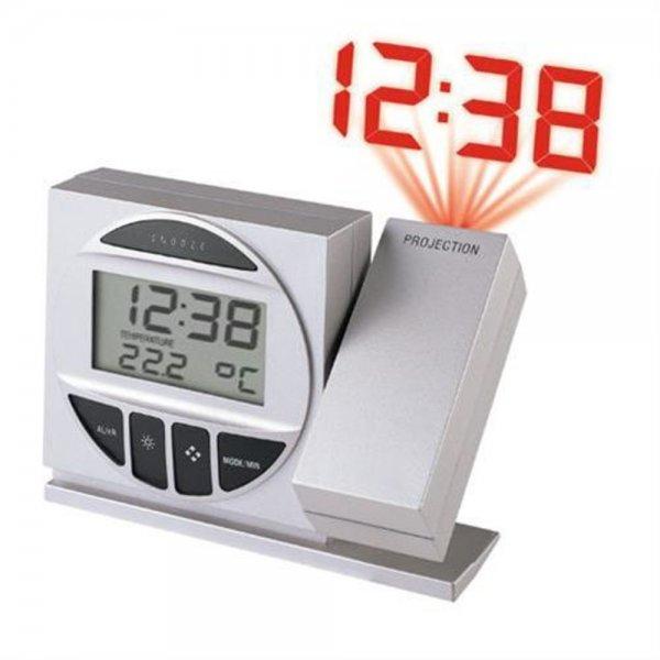 Technoline WT 590 Funkuhr mit Uhrzeit-Projektion