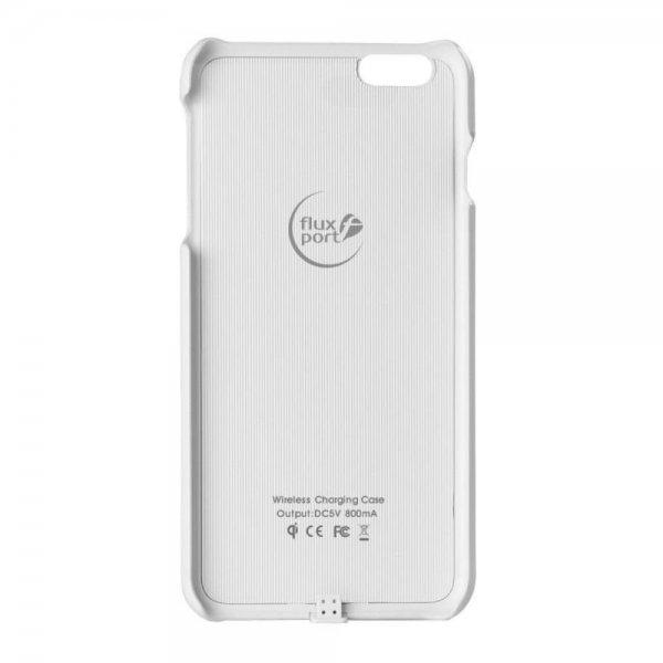 FluxPort Fluxy Apple iPhone 6/6s Handy-Schutzhülle Abdeckung Weiß