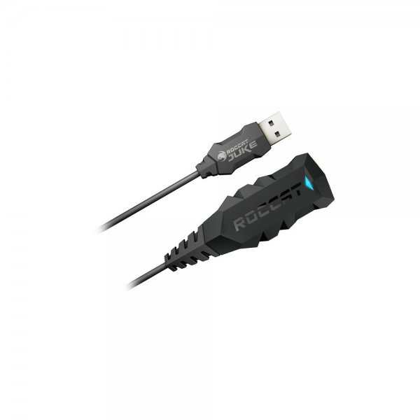 ROCCAT Juke Virtual 7.1 USB Stereo Soundkarte und Headset-Adapter # ROC-14-110