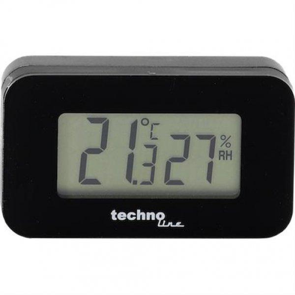 Technoline WS 7006 mini Auto-Thermometer Innentemperatur Luftfeuchtigkeit Hygrometer