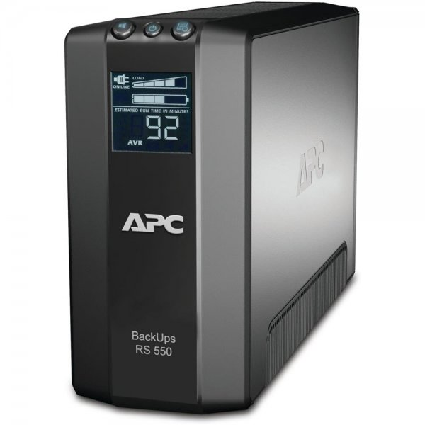 APC BR550GI Power-Saving Back-UPS Pro 550VA USV AVR Multifunktionsdisplay NEU