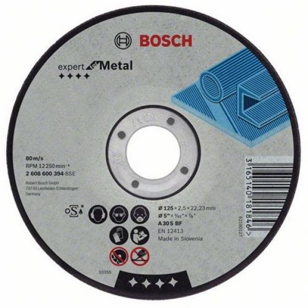 Bosch Bosc Trennscheibe gerade 115mm