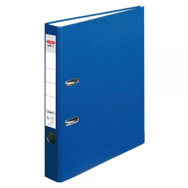 Herlitz Ordner maX.file protect A4 5cm blau