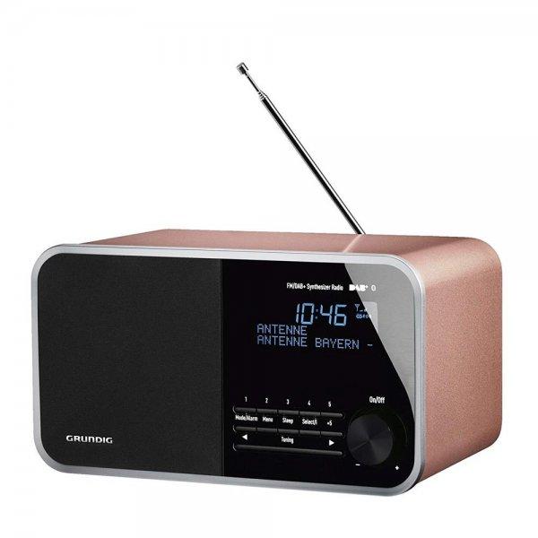 Grundig DTR 4000 DAB+ BT Radio Retro-Look Rosa-Goldfarben Bluetooth