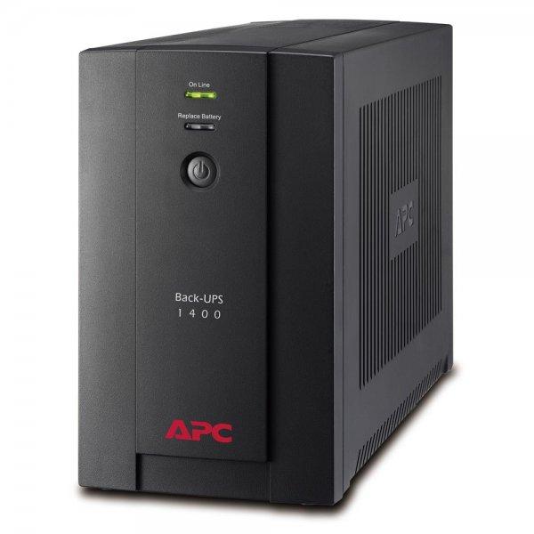 APC BX1400U-GR Back-UPS USV 1400VA AVR 4x Schutzkontakt