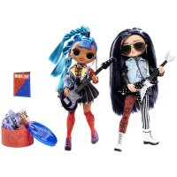 MGA L.O.L. Surprise! O.M.G. Remix Modepuppen Sammlerstück Designerkleidung Rocker Boi und Punk Grrl
