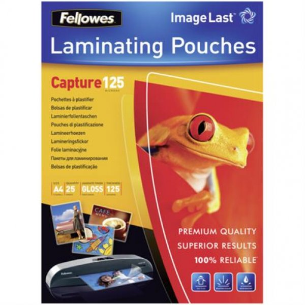 Fellowes ImageLast A4 125 mic - 25 Stück # 5396301