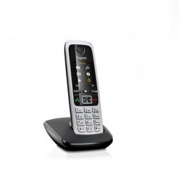 Gigaset C430A Schnurloses Telefon mit Anrufbeantworter schwarz