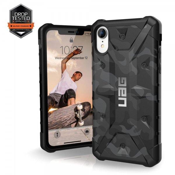 Urban Armor Gear Pathfinder Case   Apple iPhone Xr   schwarz/camo