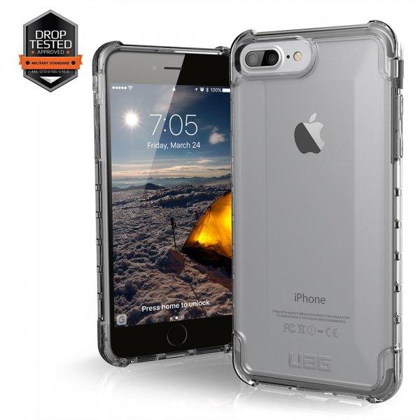 UAG Plyo Case | Apple iPhone 8/7/6S Plus | Ice transp.