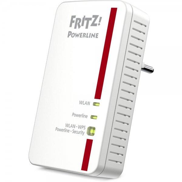AVM FRITZ!Powerline WLAN 1240E Einzel Adapter 1200 MBit/s PowerLAN Access Point