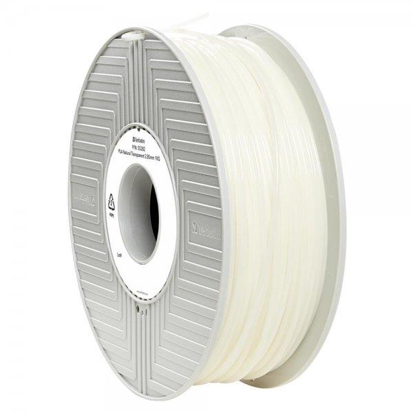 Verbatim 3D Printer Filament PLA 2,85 mm 1 kg natural transparent