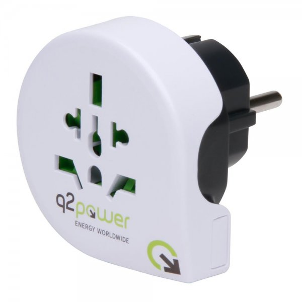Reiseadapter World2Europe Adapter