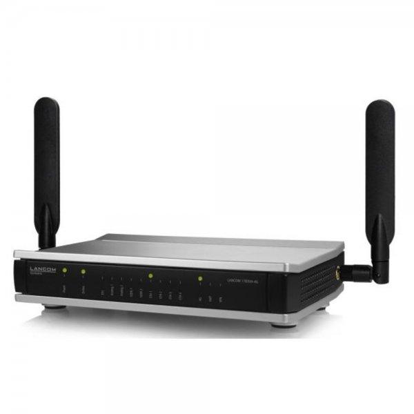 Lancom Systems 1783VA-4G Eingebauter Ethernet-Anschluss ADSL2+ Schwarz