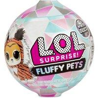MGA L.O.L. Surprise! 560487E7C Fluffy Pets- Winter Disco Series