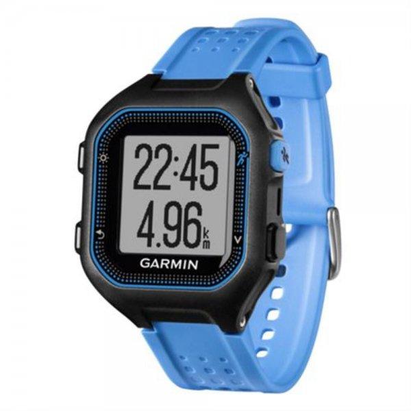 Garmin Forerunner 25 schwarz/blau GPS-Laufuhr mit Smartphone-Benachrichtigungen