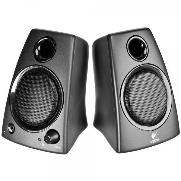 Logitech Z130 Stereo Lautsprecher 3,5mm Klinke 5W