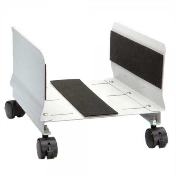 ROLINE PC-Ständer rollbar PC-Halterung Beige