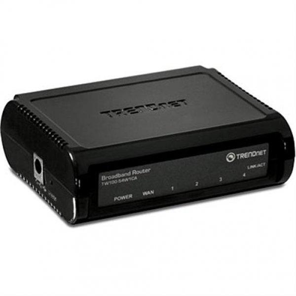 TRENDnet TW100-S4W1CA 4-facher Breitband-Router