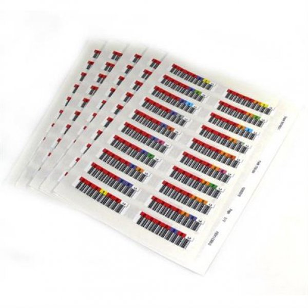 Quantum series 000101-000200 - Bar code labels (LTO-6)