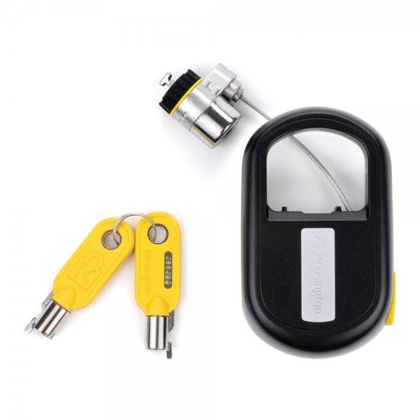 Kensington MicroSaver®-Notebookschloss mit Schlüssel, einziehbar Kabelschloss