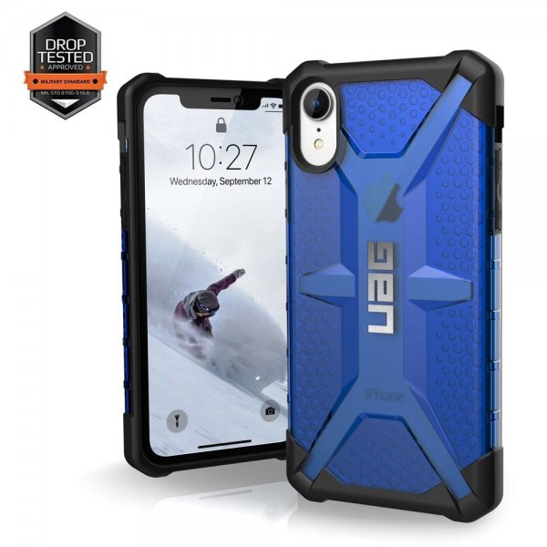 Urban Armor Gear Plasma Case | Apple iPhone Xr | cobalt (blau transparent)