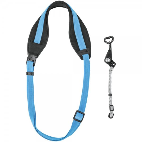 Pacsafe Carrysafe 150 GII Kamera sling Gurt hawaiian blue