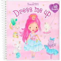 Depesche 11158 Stickerbuch Dress me up Princess Mimi ca. 16 x 15,5 x 1 cm